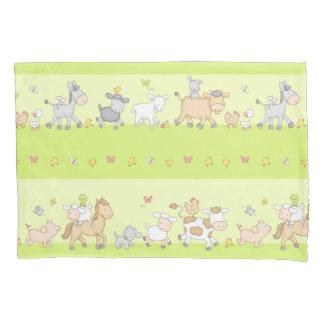 家畜パレード 枕カバー