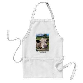 家畜、かわいい牛 スタンダードエプロン
