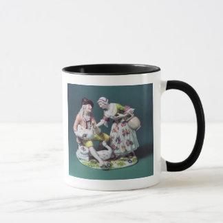 家禽の販売人のMeissenの姿、c.1750 マグカップ