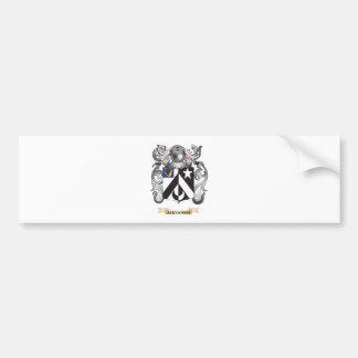 (家紋)アレキサンダーの紋章付き外衣 バンパーステッカー