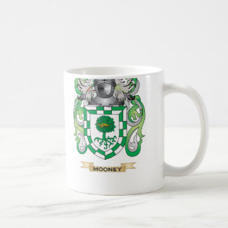 (家紋) Mooneyの紋章付き外衣 コーヒーマグカップ