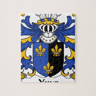 家紋Ynyrの古代紋章付き外衣 ジグソーパズル