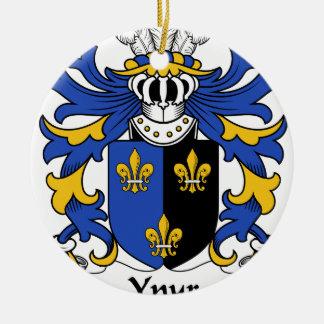 家紋Ynyrの古代紋章付き外衣 セラミックオーナメント