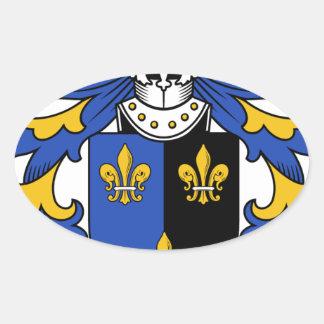 家紋Ynyrの古代紋章付き外衣 楕円形シール