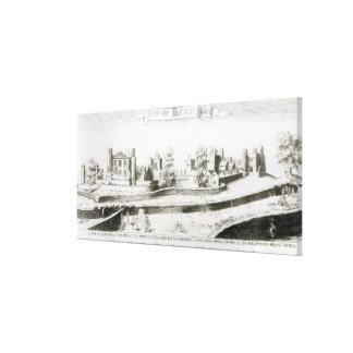 家1645年のベースの包囲 キャンバスプリント