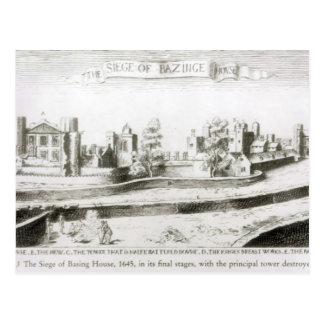 家1645年のベースの包囲 ポストカード