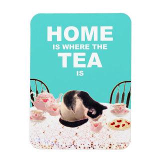 家3X4は茶が猫の磁石であるところにです マグネット