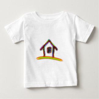 家 ベビーTシャツ