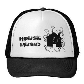 家、家音楽 キャップ