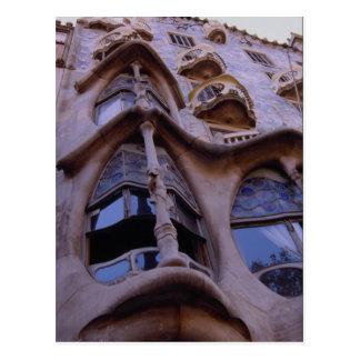 家Batllo、バルセロナ、スペイン ポストカード