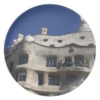 家Milà、バルセロナ プレート