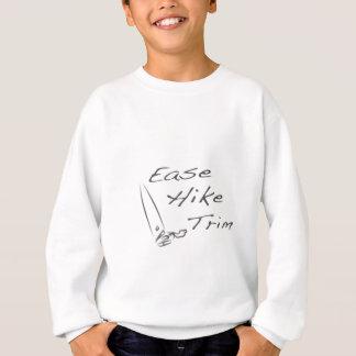 容易さのハイキングのトリム スウェットシャツ