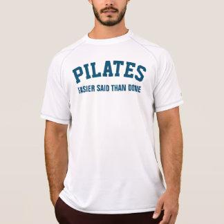 容易なPilatesはされるより言いました Tシャツ