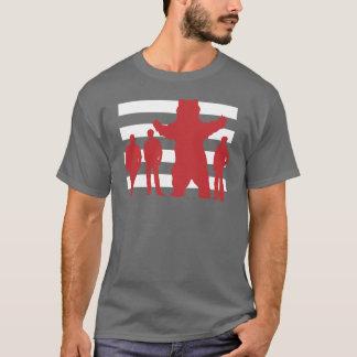 容疑者のSANSの珍しい文字 Tシャツ