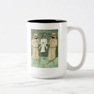 容疑者 ツートーンマグカップ