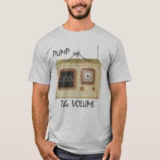 容積をポンプでくんで下さい Tシャツ