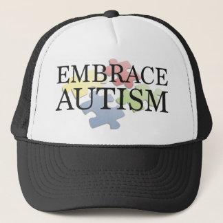 容認の自閉症 キャップ