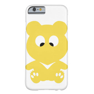 寄り目のくま BARELY THERE iPhone 6 ケース