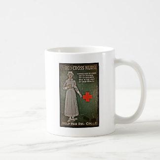 寄付WWIを要求しているナース コーヒーマグカップ