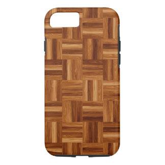 寄木細工の床のiPhone 7の堅い場合 iPhone 8/7ケース