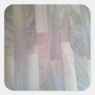 寄木細工の床|床 正方形シールステッカー