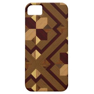 寄木細工の床 iPhone SE/5/5s ケース