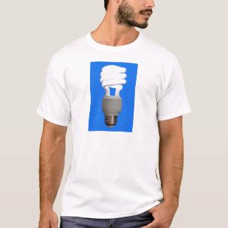 密集した蛍光球根 Tシャツ
