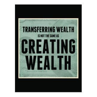 富の作成 ポストカード