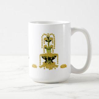 富の黙想 コーヒーマグカップ