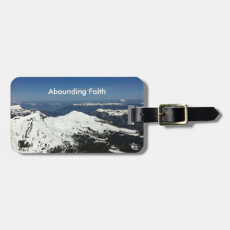 富む信頼の荷物のラベル山 ラゲッジタグ
