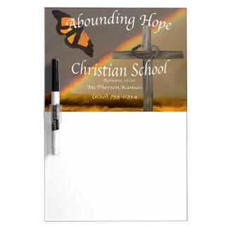 富む希望のキリスト教の学校のロマンの15:13 ホワイトボード