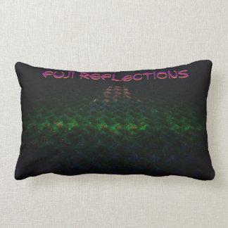 富士の反射の枕 ランバークッション
