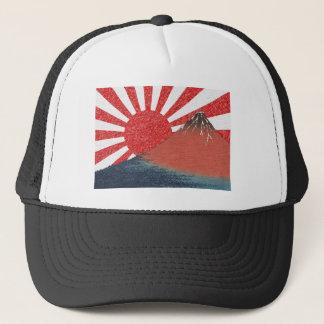 富士山の元のデザイン キャップ