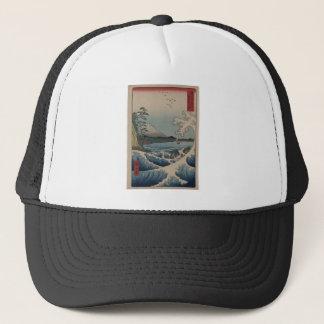 富士山の富士三十六景、Hiroshigeの36の概観 キャップ