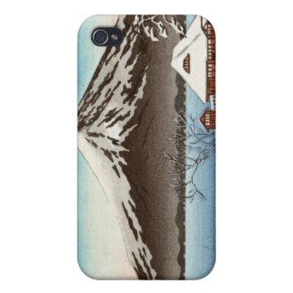 富士山の眺めの冬の景色 iPhone 4 COVER