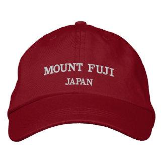 富士山の調節可能な野球帽 刺繍入りキャップ