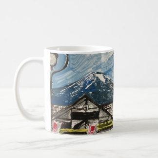 富士山日本のコーヒー・マグ コーヒーマグカップ
