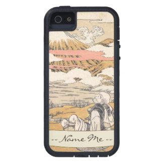 富士mi Saigyoのisodaのkoryusai山のヴィンテージの芸術 iPhone SE/5/5s ケース