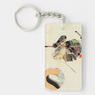 富岡Eisenの武士の戦士のクラシックな日本の芸術 キーホルダー