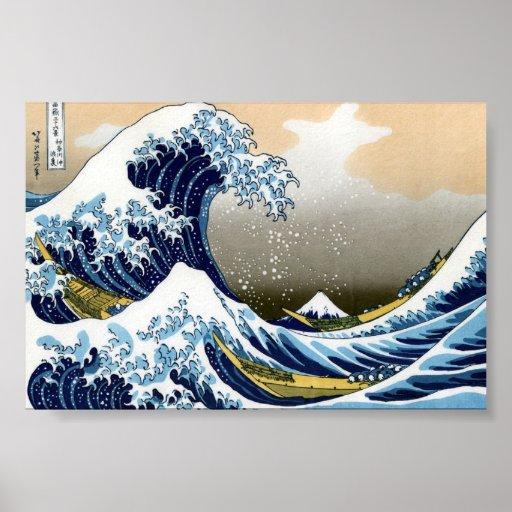 富嶽三十六景 Fugaku Sanjūroku-kei ポスター