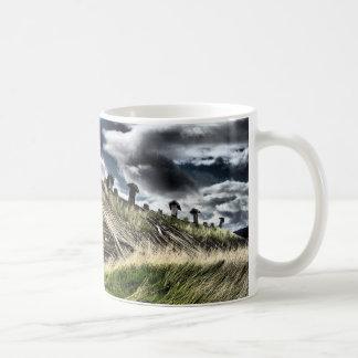 富鉱帯、取除かれるオレゴンのポテト-コーヒー・マグ コーヒーマグカップ