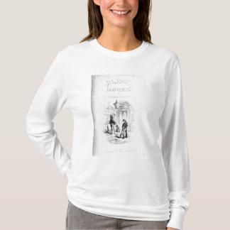 「寒冷なHouseのとびら Tシャツ