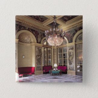 寓話的な描写を含む予然室の眺め 5.1CM 正方形バッジ