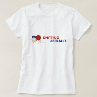 寛大に合われたTシャツ#1を編むこと Tシャツ