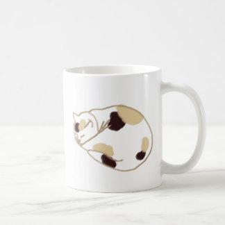 寝てる猫 コーヒーマグカップ