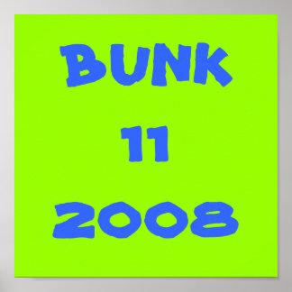 寝台11 2008年 ポスター
