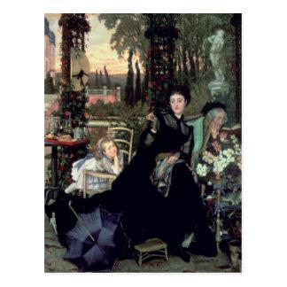 寡婦1868年 ポストカード