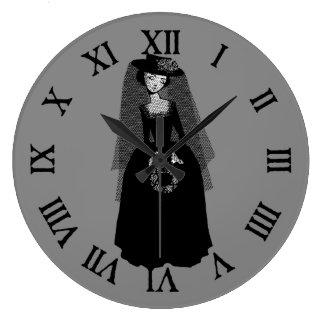 寡婦 ラージ壁時計