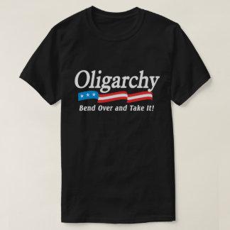寡頭政治-くねり--はそれを取り、! Tシャツ