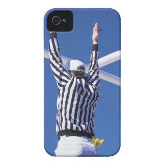 審判員シグナリング接地か巧妙な分野 Case-Mate iPhone 4 ケース